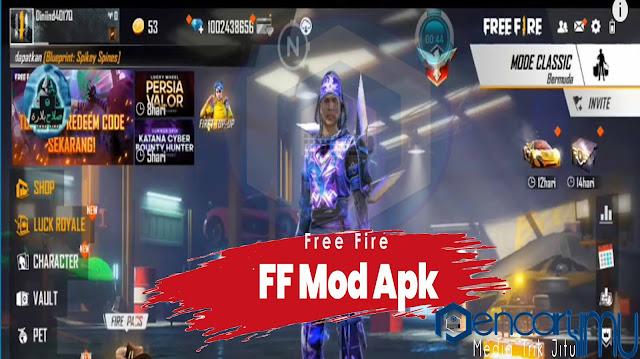 Download FF Mod Apk 2021 Unlimited Diamond Terbaru Anti Banned