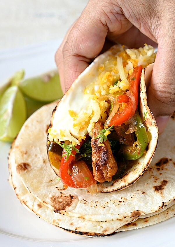 best and easy chicken fajitas with cheese