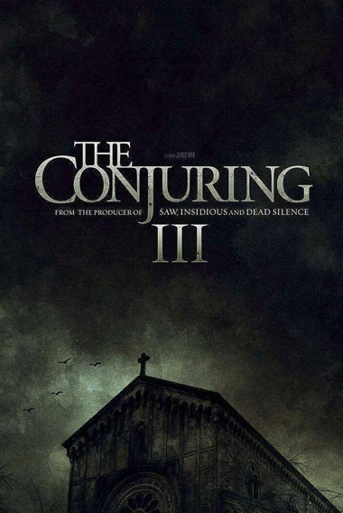 Capa de Invocação do Mal 3, filme de terror que será lançado em 2020