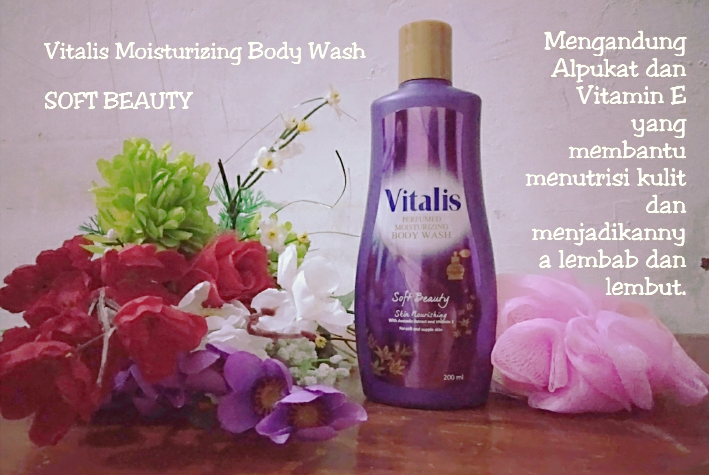 White Glow, Soft Beauty, Fresh Dazzle, Mandi Parfum, Vitalis Body Wash