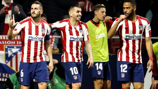 أتلتيكو يستعيد موقعه وراء برشلونة وريال مدريد