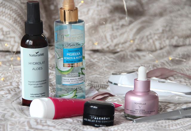 Jesienne nowości nie tylko kosmetyczne | Pielęgnacja i masażer do twarzy za 1,99zł !