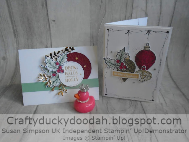 Christmas 2019, Christmas Gleaming, Craftyduckydoodah!, Supplies available 24/7 from my online store, Susan Simpson UK Independent Stampin' Up! Demonstrator