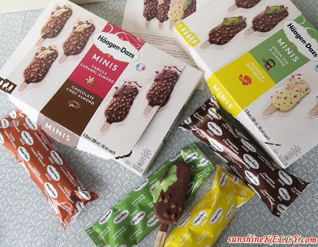 Häagen-Dazs™ New Mini Stick Bars Indulge Anytime, Anywhere!