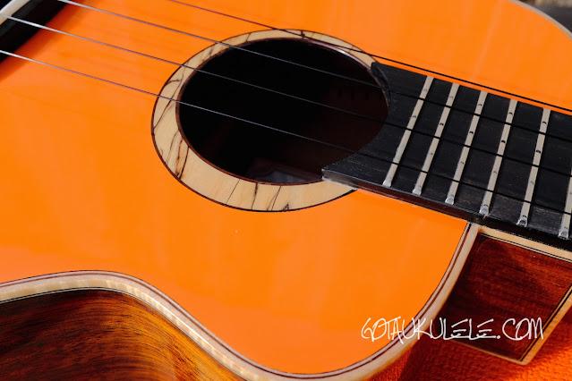 aNueNue Lion Orange UT Ukulele decor