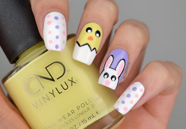Nails Hoppy Easter Monday Manimonday Cosmetic Proof
