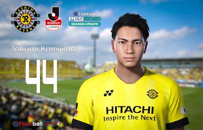 PES 2021 Faces Takumi Kamijima by CongNgo