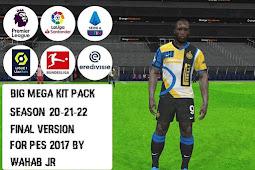 BIG MEGA Kitpack Season 2020-2021 V15 AIO - PES 2017