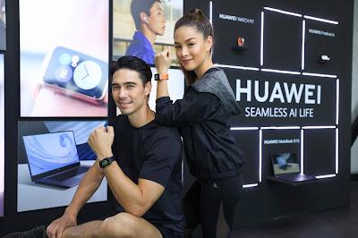 ลิเดีย – แมทธิว แชร์ 3 เคล็ดลับในการเลือกซื้อและใช้สมาร์ทวอทช์ให้เวิร์ค  พร้อมเผยแก็ดเจ็ตคู่ใจใหม่ล่าสุดที่สายแอคทีฟพลาดไม่ได้ HUAWEI Watch Fit