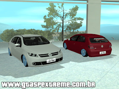 Vw Gol G5 do Leo Pai para GTA San Andreas