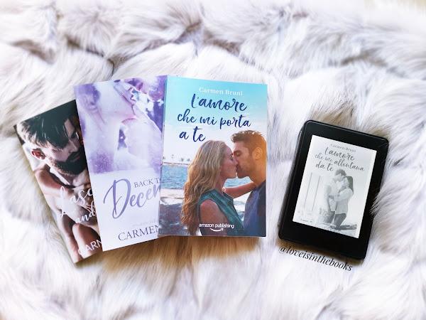L'amore che mi allontana da te di Carmen Bruni | Review Party