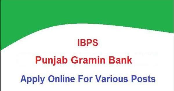 Punjab-Gramin-Bank-PGB-Jobs%2B2019 Online Form Gramin Bank on