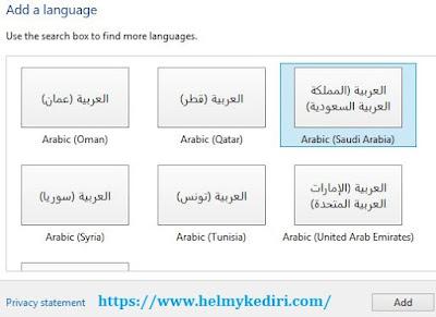 Cara mengubah huruf keyboard menjadi bahasa arab