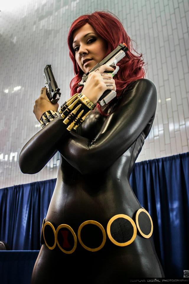 sc 1 st  Glitzy Geek Girl & OMGLITZY: Black Widow Cosplay Tutorial