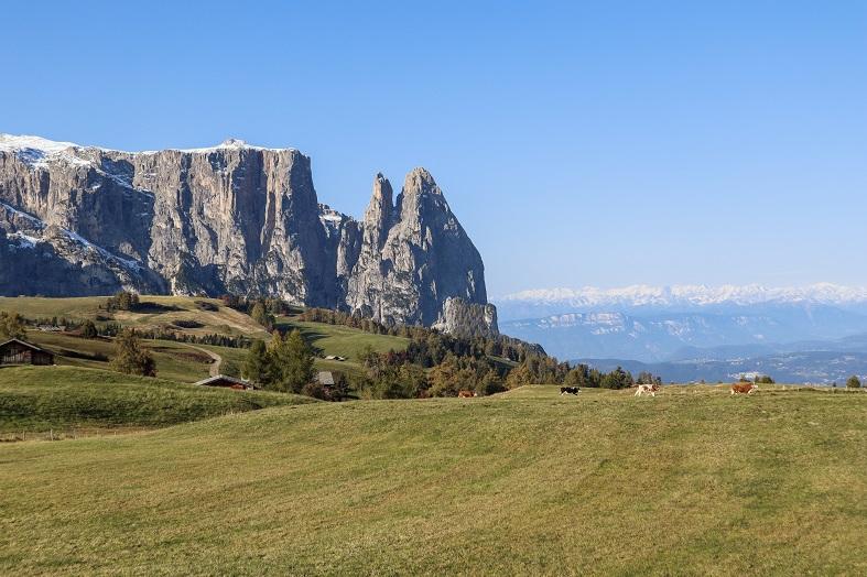 Trekking Rifugio Molignon all'Alpe di Siusi