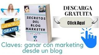 el ebook secretos del blog marketer tiene estrategias para el marketing online para lleves a cabo es gratis