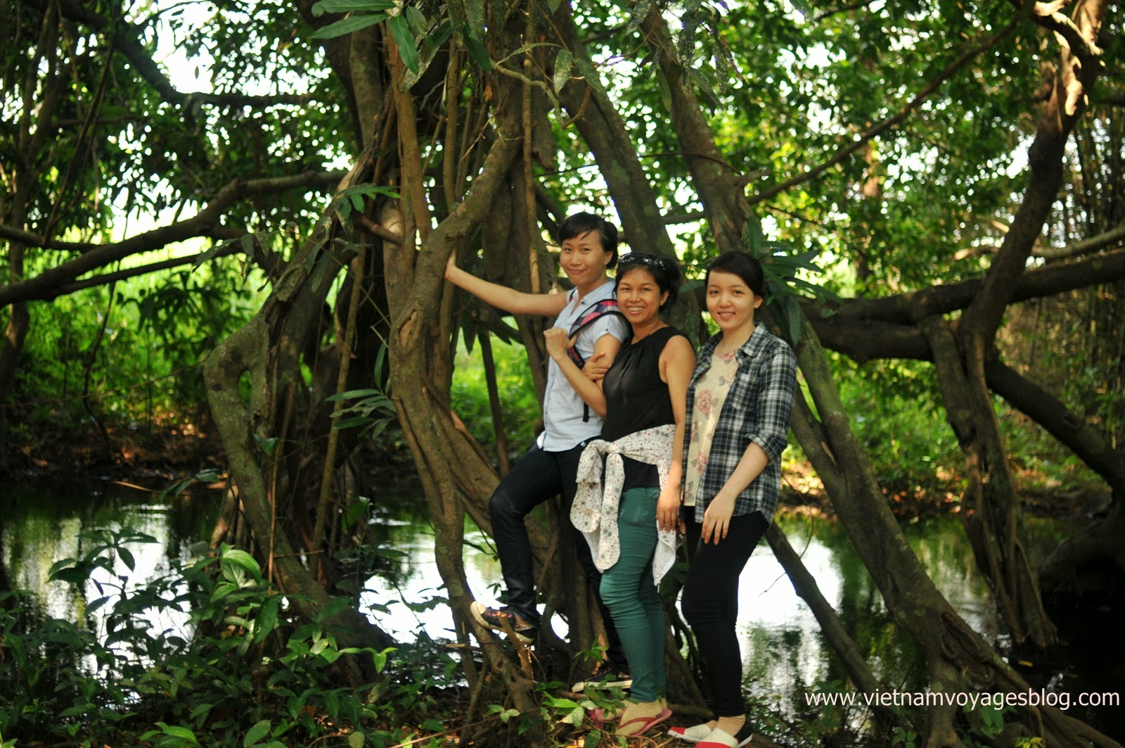 Công ty Hành Trình Việt khảo sát tuyến tại Vườn quốc gia Nam Cát Tiên
