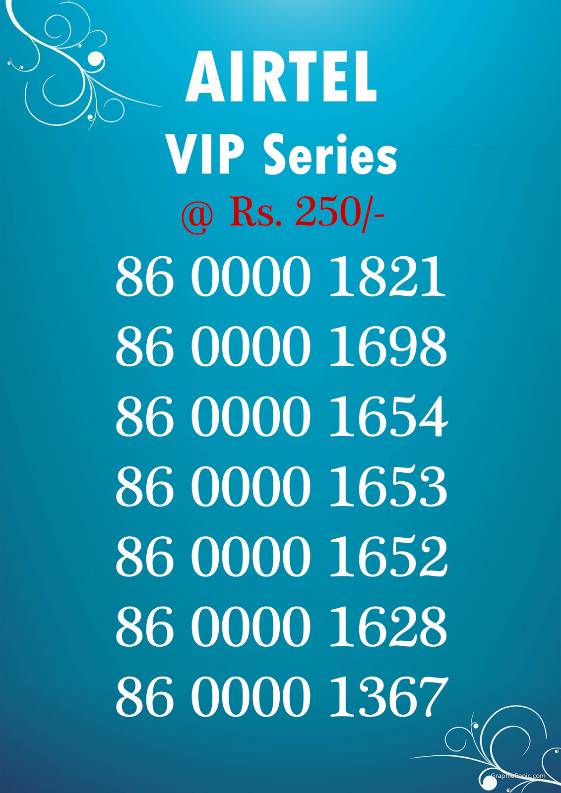 Best Attractive VIP Mobile Numbers SALE @ Reasonable Price | Idea