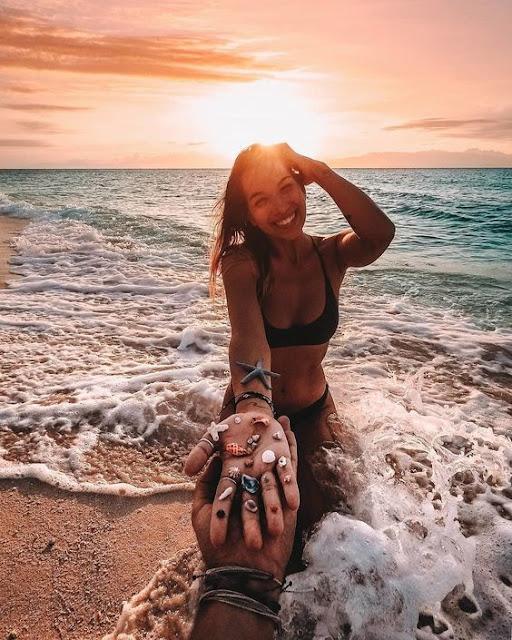 50 Ideias de fotos na praia sozinha tumblr