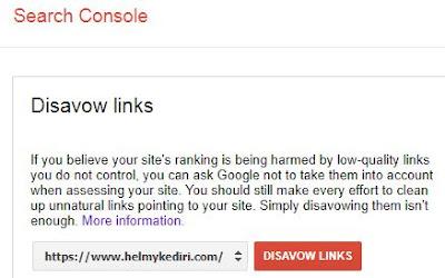Cara menurunkan spam score blog4