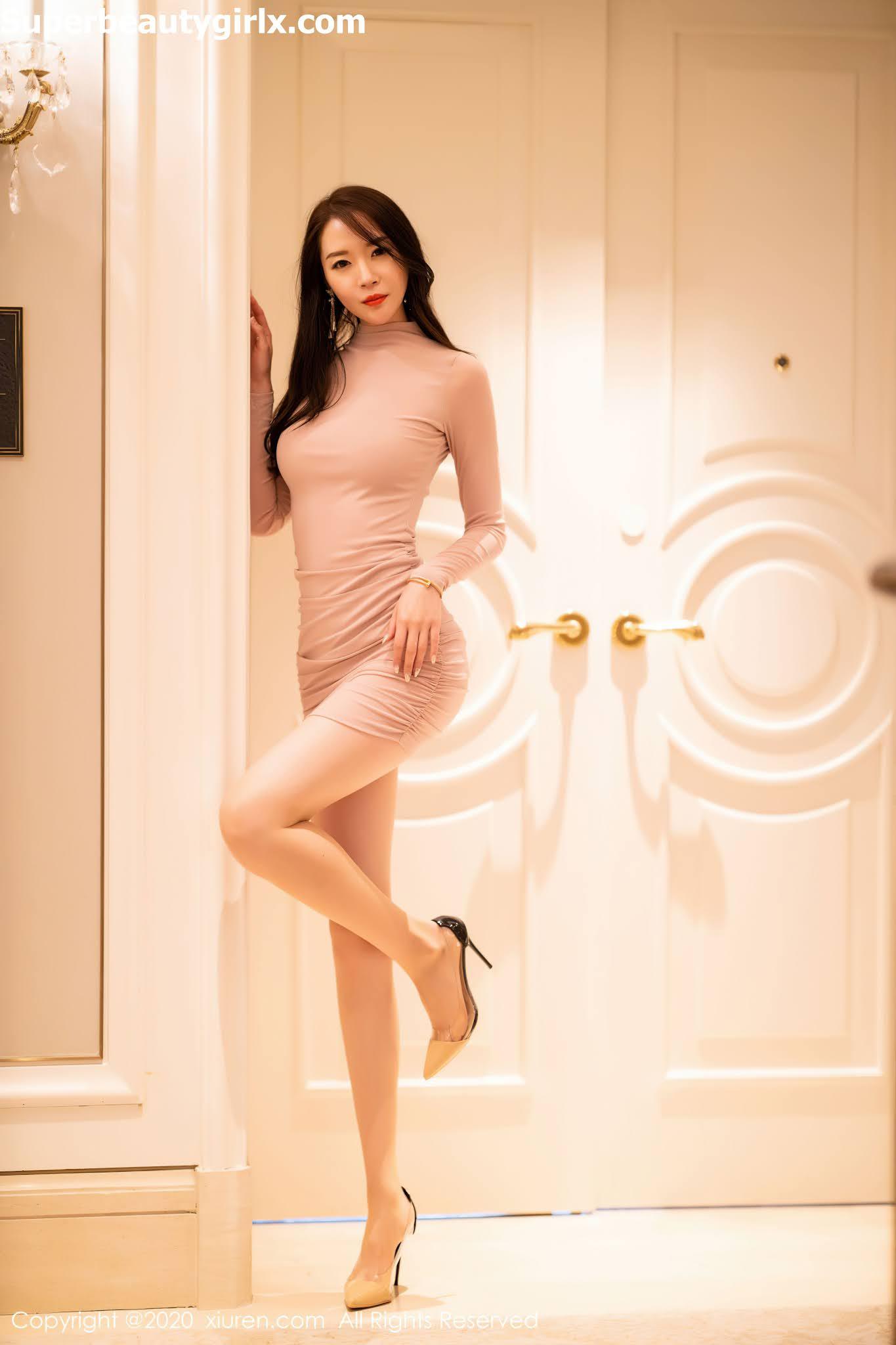 XIUREN-No.2677-Meng-Xin-Yue-Superbeautygirlx.com