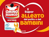"""Logo Concorso """" Omino Bianco il super alleato del pulito e dei bambini """" : vinci 100 gift card da 25 euro"""