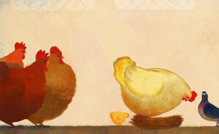 La gallina che non sapeva fare le uova