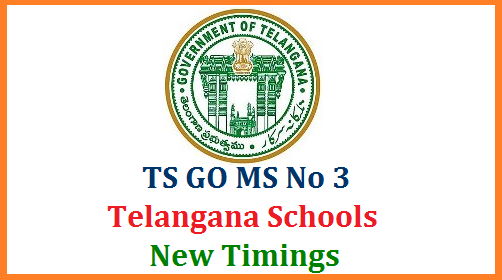 Telangana School Education Department instructed Officials at District and Mandal Level to Implement GO MS No 3 dated 27.08.2014 RTE School Timings for Primary Upper Primary and High Schools in State and follow the Period wise Subject wise Allotments as per the GO mentioned above Right to Education Act, 2009 – Implementation of school timings as per RTE, 2009 in all schools under the management of Government, Municipal, Local bodies, Welfare Departments, Private Aided and Recognised schools – Orders - Issued. ts-telangana-primary-upper-high-schools-timings-period-subject-wise-allotments-go-ms-no3-download