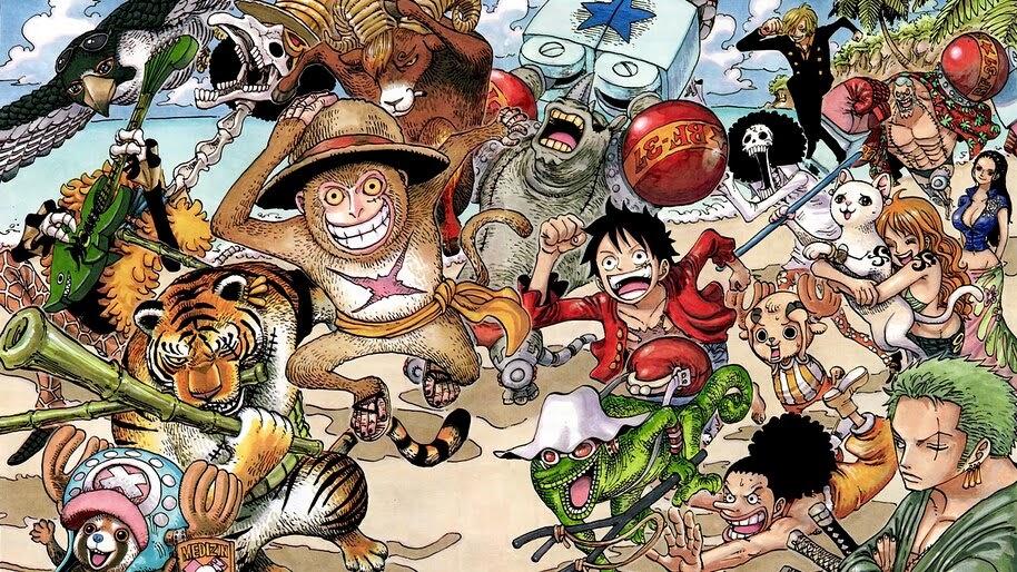 One Piece, Straw Hat Pirates, 4K, #6.173