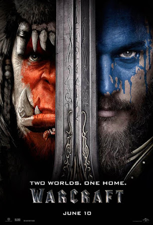 Poster Of Warcraft In Dual Audio Hindi English 300MB Compressed Small Size Pc Movie Free Download Only At worldfree4u.com