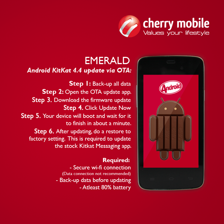 Cherry Mobile Emerald Android KitKat