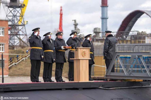 El submarino nuclear silencioso Kazan entra en servicio en la Armada de Rusia