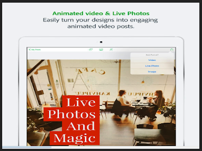 Here Is A Great App for Creating Stunning Posters and Visuals to Use in Class