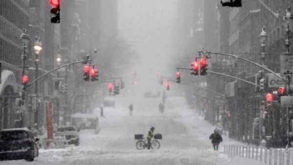Estados Unidos: Millones de personas sin electricidad. tras la tormenta