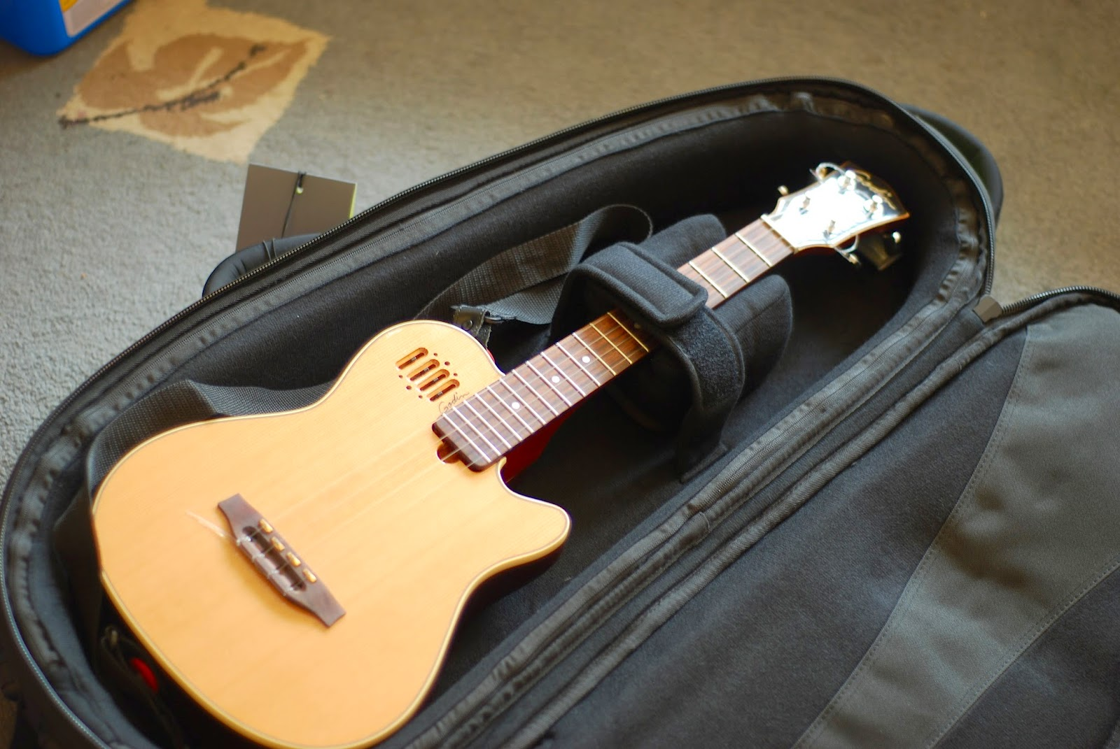 Fusion Premium Ukulele Gig Bag with uke