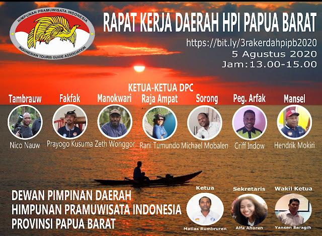 Flyer Rakerda HPI Se-Papua Barat