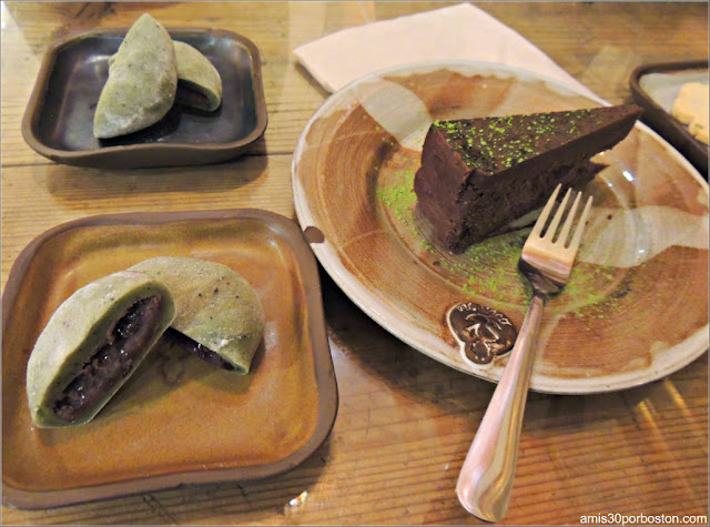 Dulces en Tetería Dobrá Tea en Portland, Maine