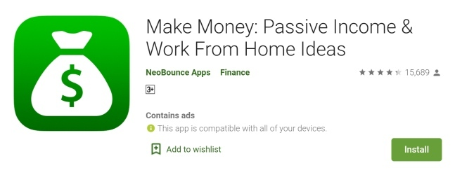 Make Money Passive Income App