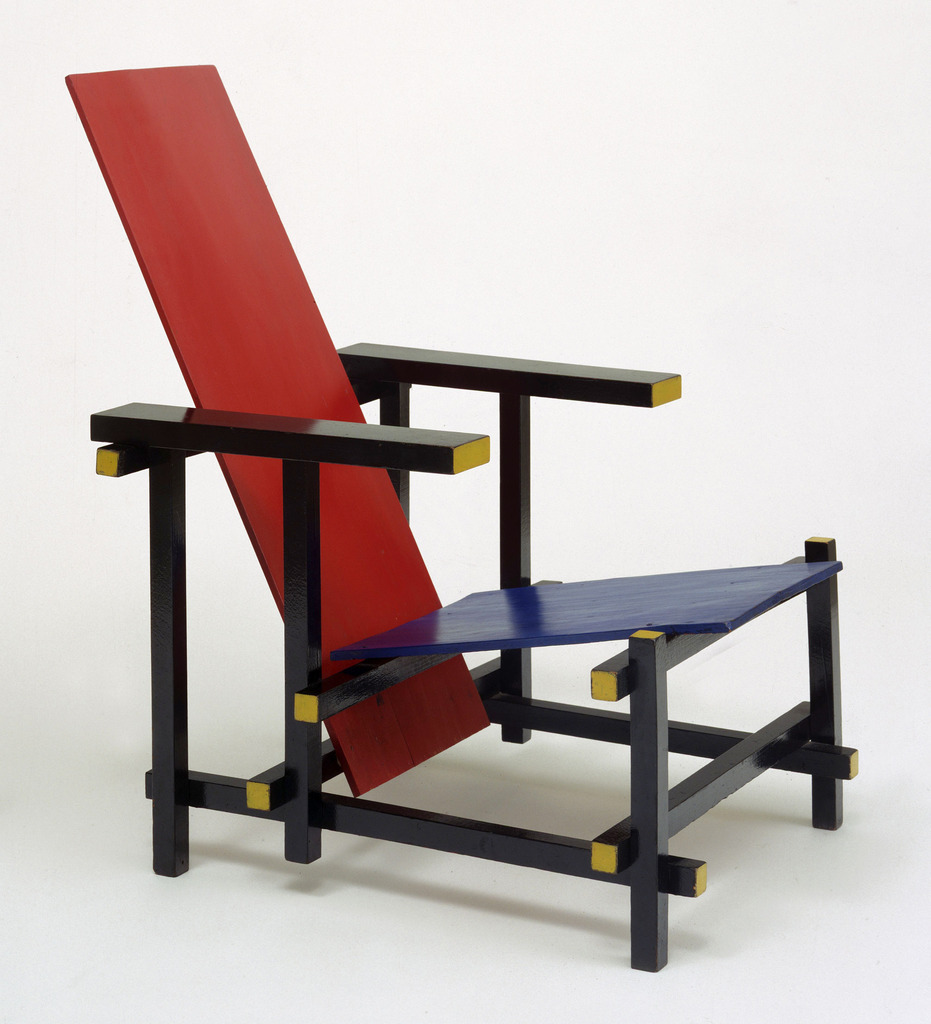 THE RIETVELD-SCHRODER HOUSE: RIETVELD'S FURNITUREGerrit Rietveld Chair