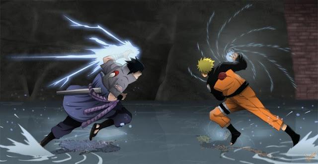 cuộc chiến giữa sasuke với itachi