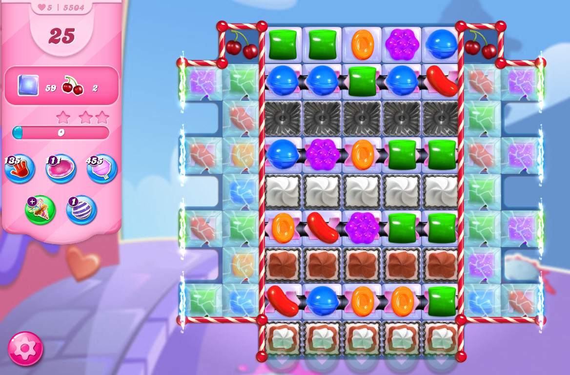 Candy Crush Saga level 5504