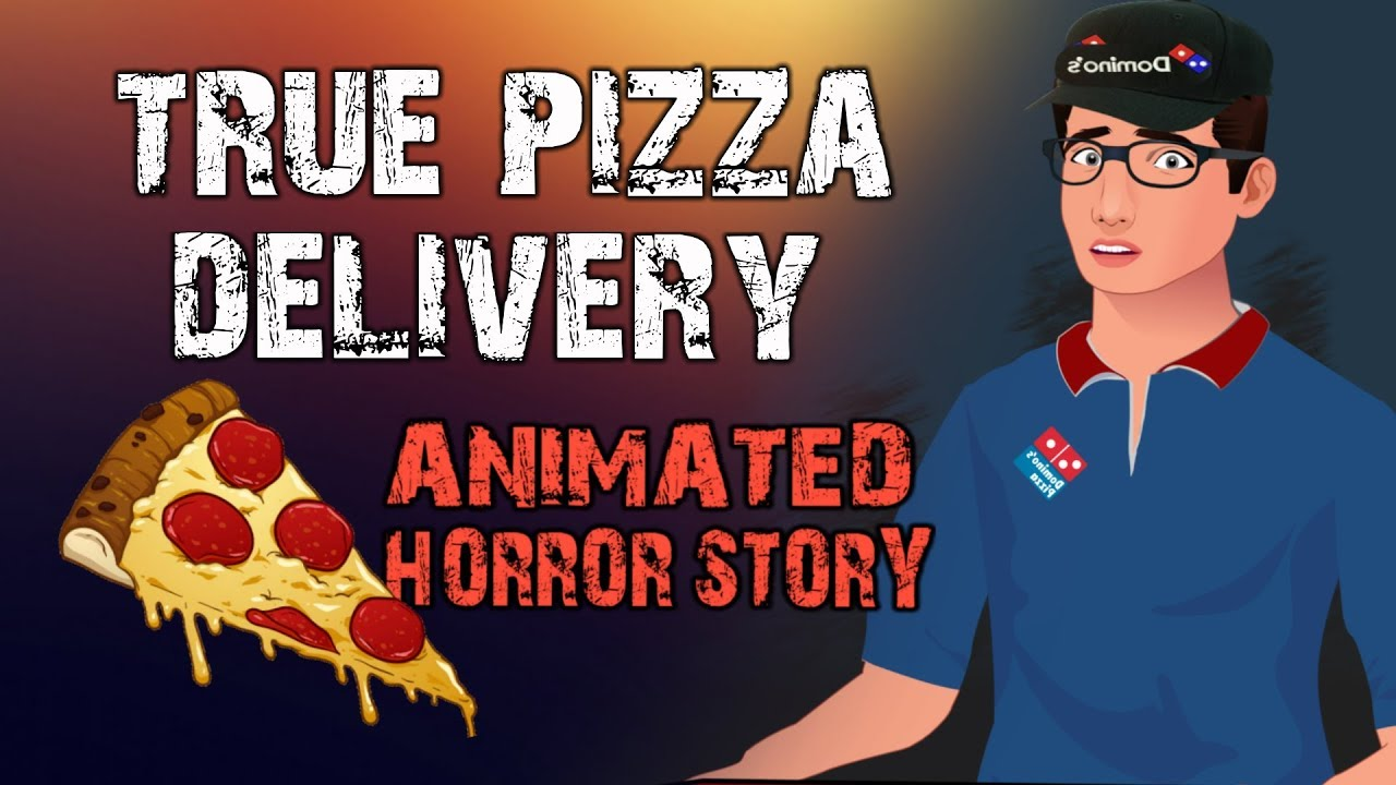 Horror Story about Pizza Delivery, Animated