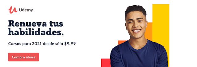 Rebajas para el nuevo año: cursos desde sólo $9,99 en Udemy