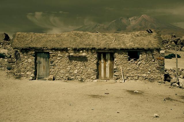 imagenes de pobreza en las montañas, casas solitarias,