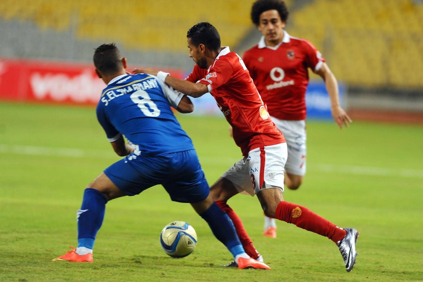 الأهلي ضد نادي أسوان