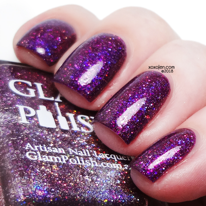 xoxoJen's swatch of Glam Polish A Bunch Of Hocus Pocus