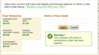 free Amazon coupons february 2017