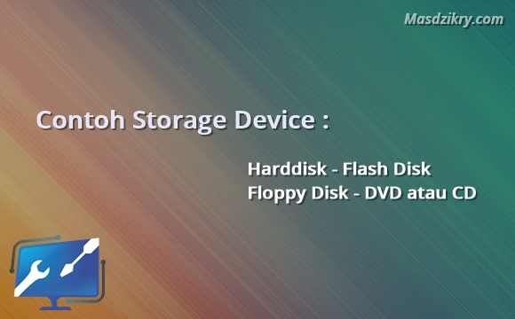 Contoh storage device
