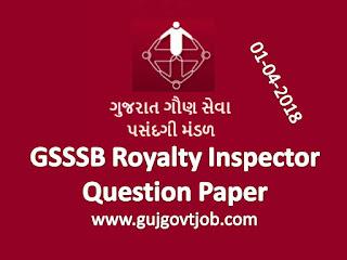 GSSSB Royalty Inspector