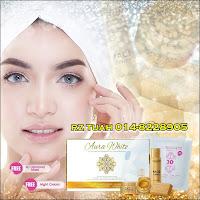 aurawhite gold platinum skincare